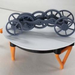 میز قابل چرخش برای معرفی محصول
