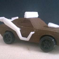 3DRACERS - MUSCLE CAR
