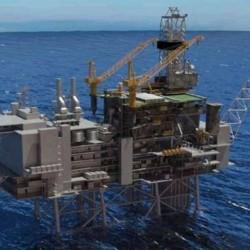 سکوی نفتی مدل