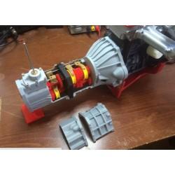 دنده خودرو پنج سرعته Working 5 speed transmission  Toyota