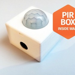 PIR HC-SR501باکس دیواری چشمی