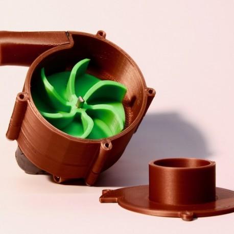 پمپ آب چاپی سه بعدی با دو موتور