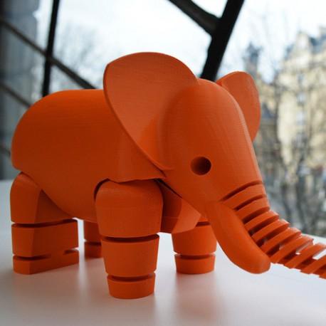 ELEPHANT پرینت یک فیل بامزه