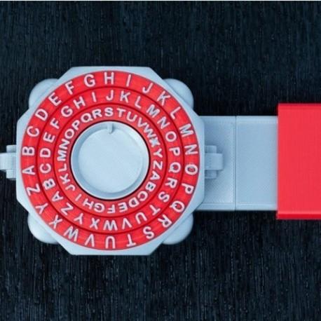 یک قفل رمزدار ترکیبی قفل گاوصندوق
