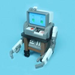 RETRO COMPUTER ROBO ربات ریترو بامزه
